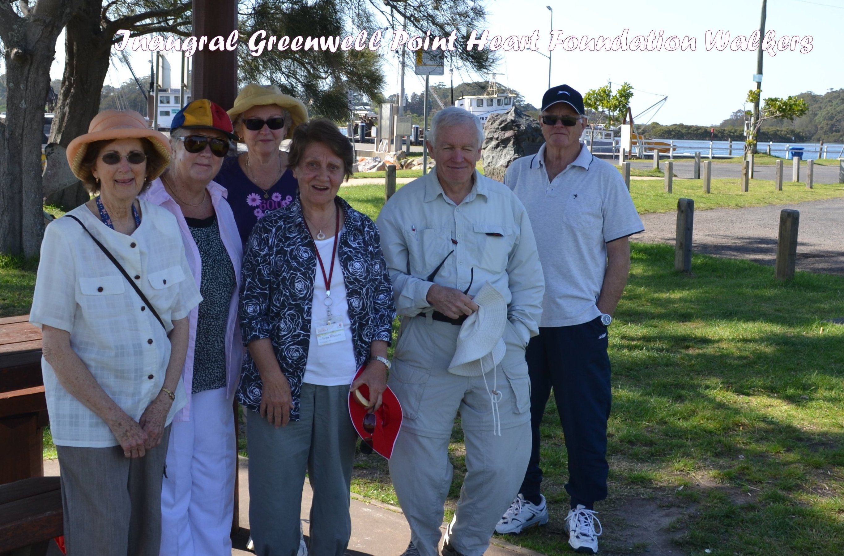 Greenwell Point Heart Foundation Walking Group
